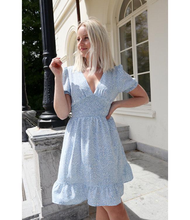 Floral dreamy dress - blue