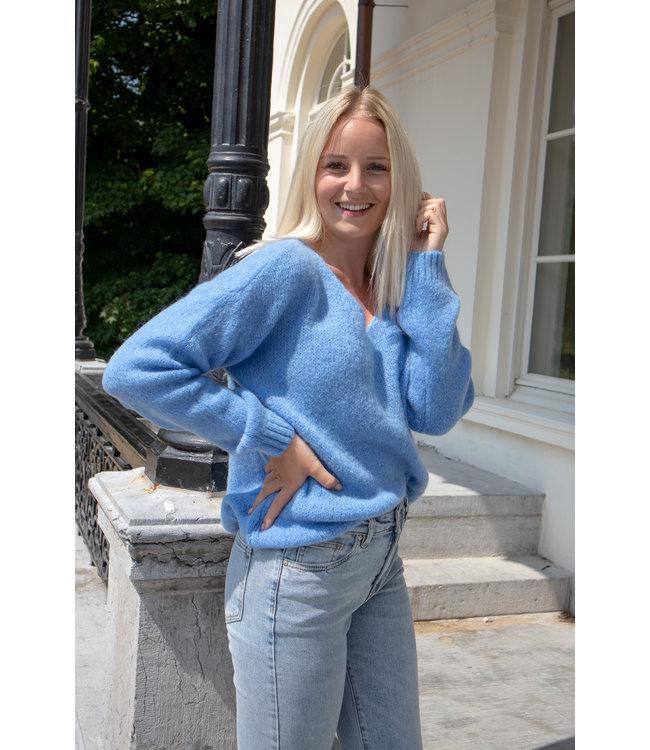 Belle sweater - sky blue