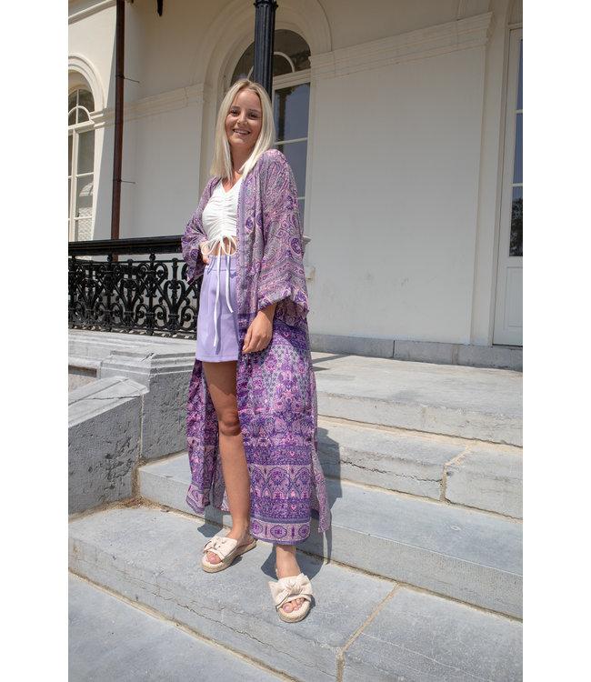 Kimono - purple