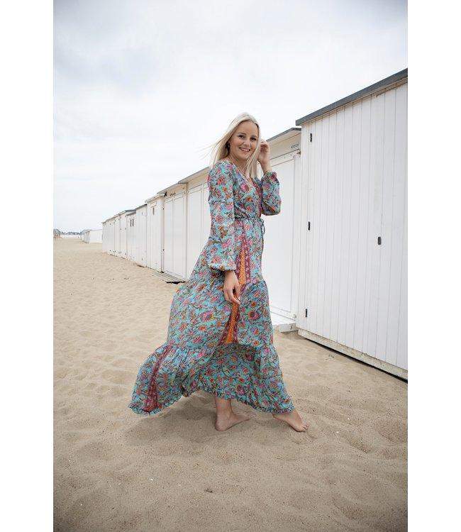 Judith dress - turquoise