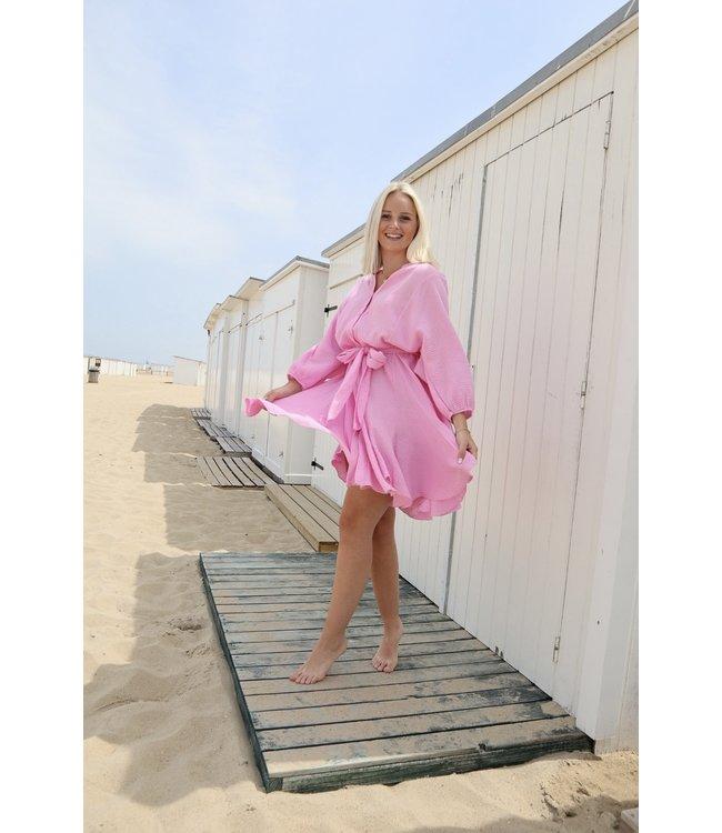 Dreamy tetra dress - pink