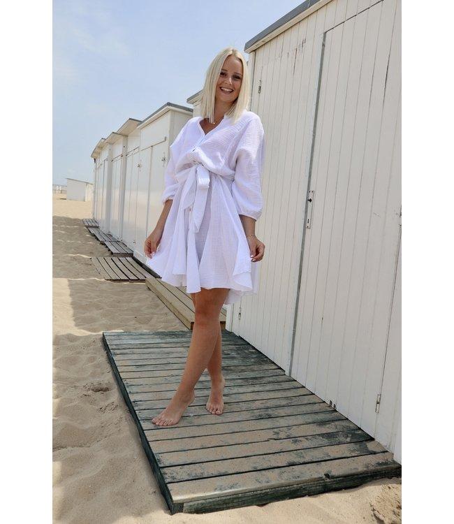 Dreamy tetra dress - white