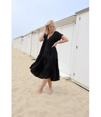 Smock dress - black