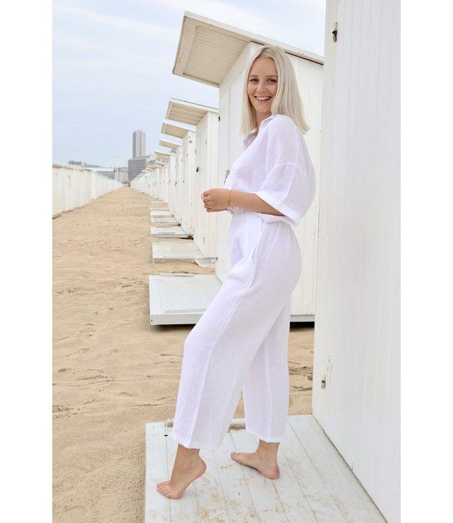 Tetra jumpsuit - white