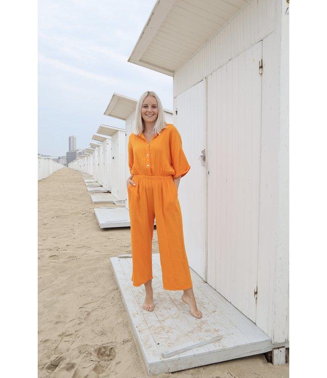Tetra jumpsuit - orange