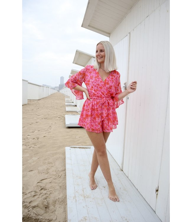 Blossom playsuit - pink