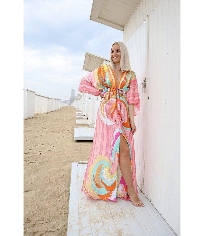 Ibiza maxi  dress - pink