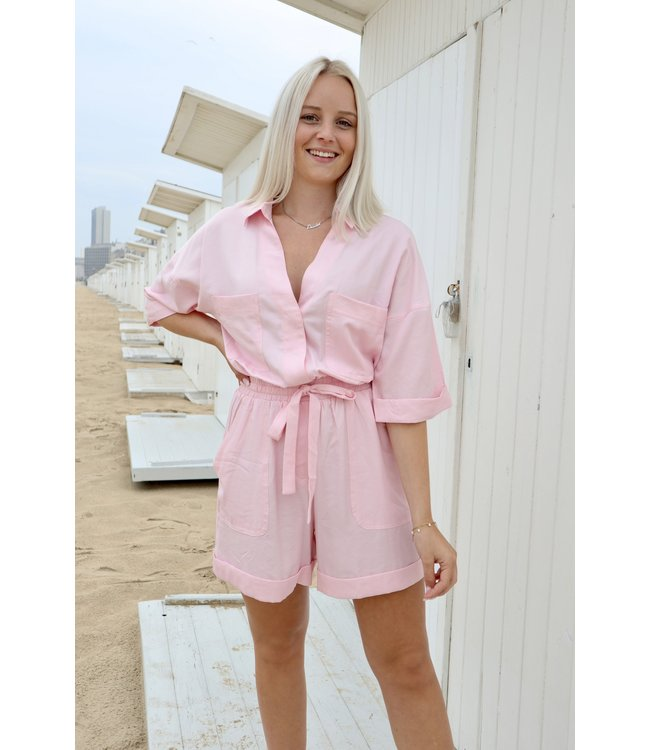 Perfect summer playsuit - Pink