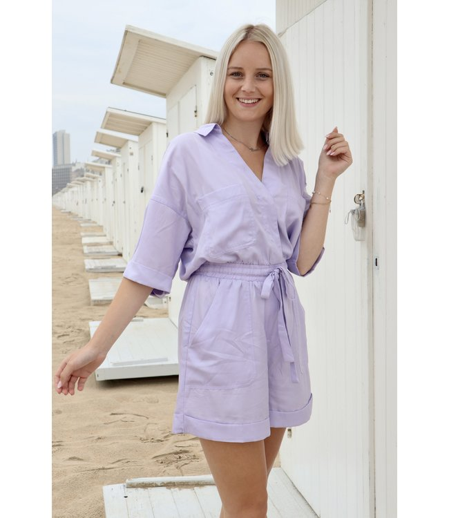 Perfect summer playsuit - Lila