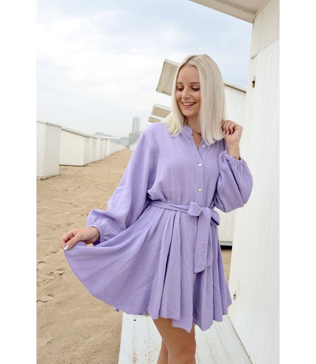 Dreamy tetra dress - Lila