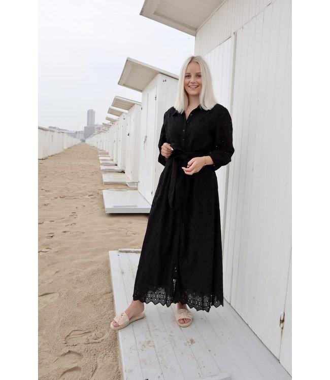 Mandy maxi dress - black