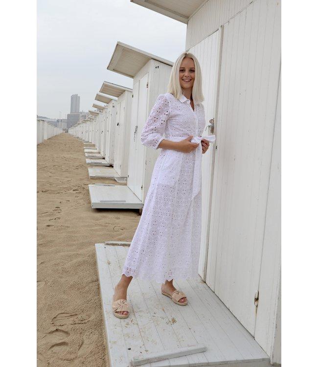Mandy maxi dress - white
