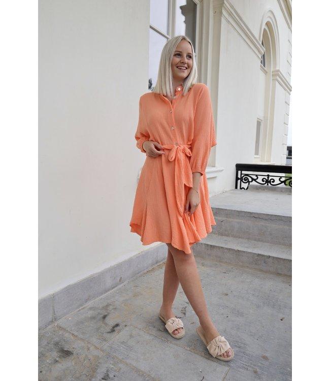 Dreamy tetra dress - orange