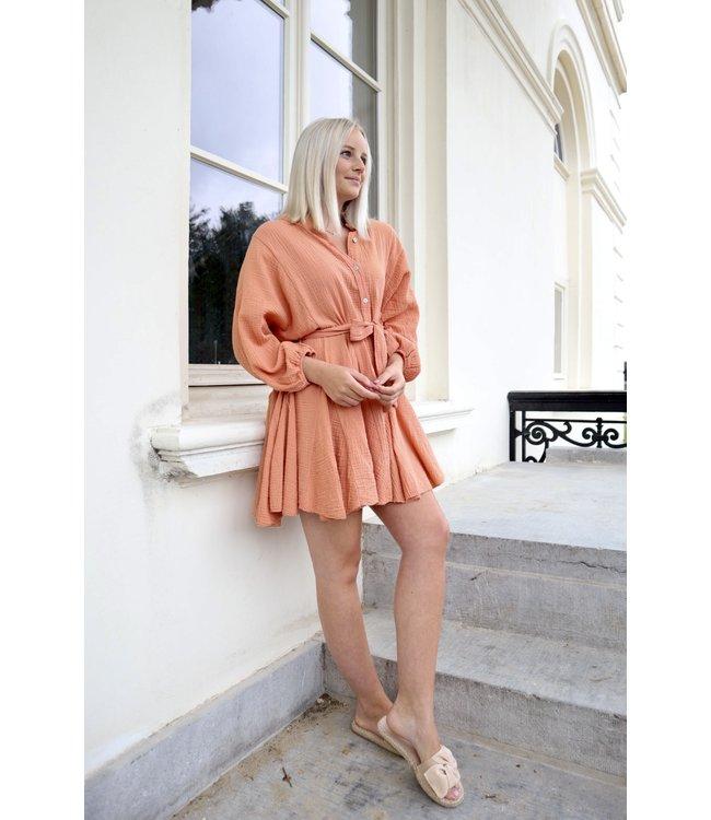 Dreamy tetra dress - copper