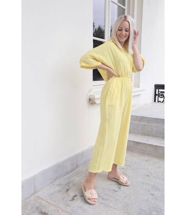 Tetra jumpsuit - yellow