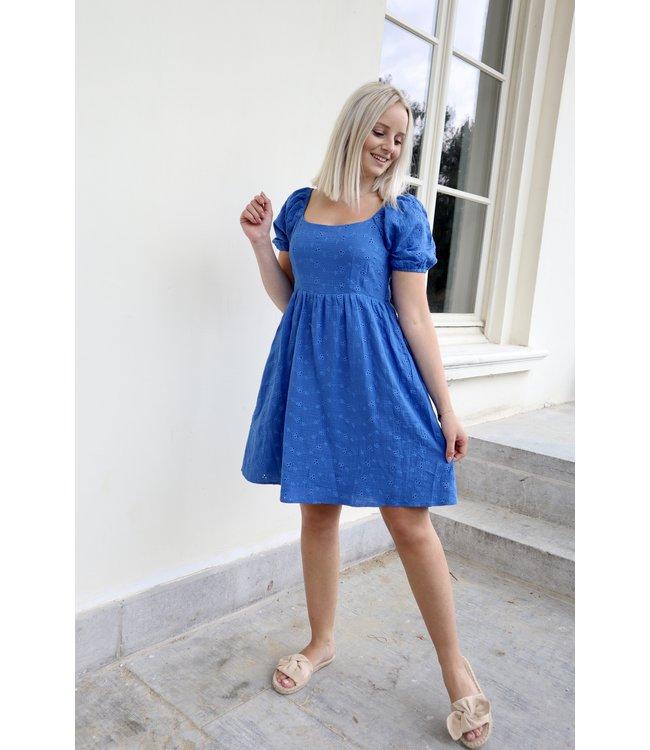 Emma lace dress - blue