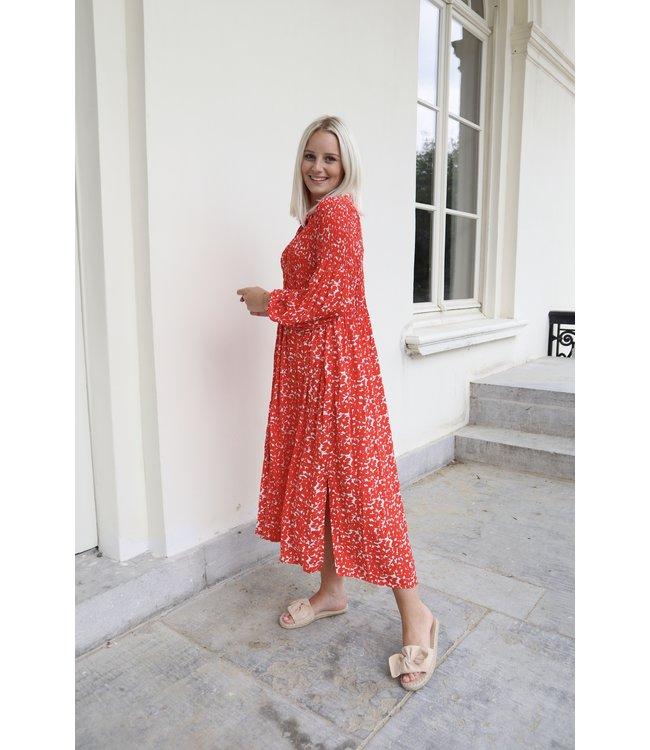 Inaya Jenner dress - red