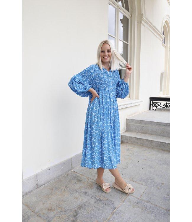 Inaya Jenner dress - blue