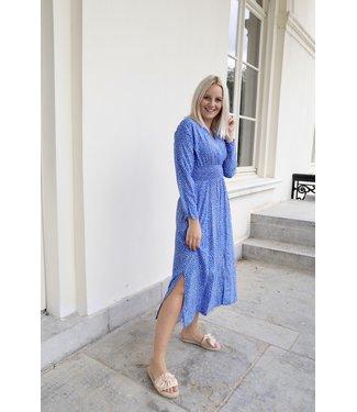 Lucy dots dress - blue