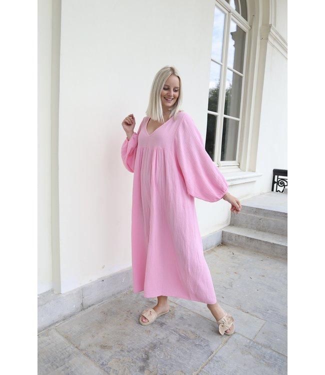 Tetra isa dress - pink