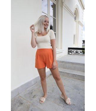 Isa suit short - orange