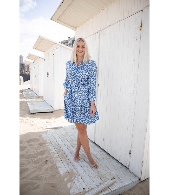 Bloomy dress - blue