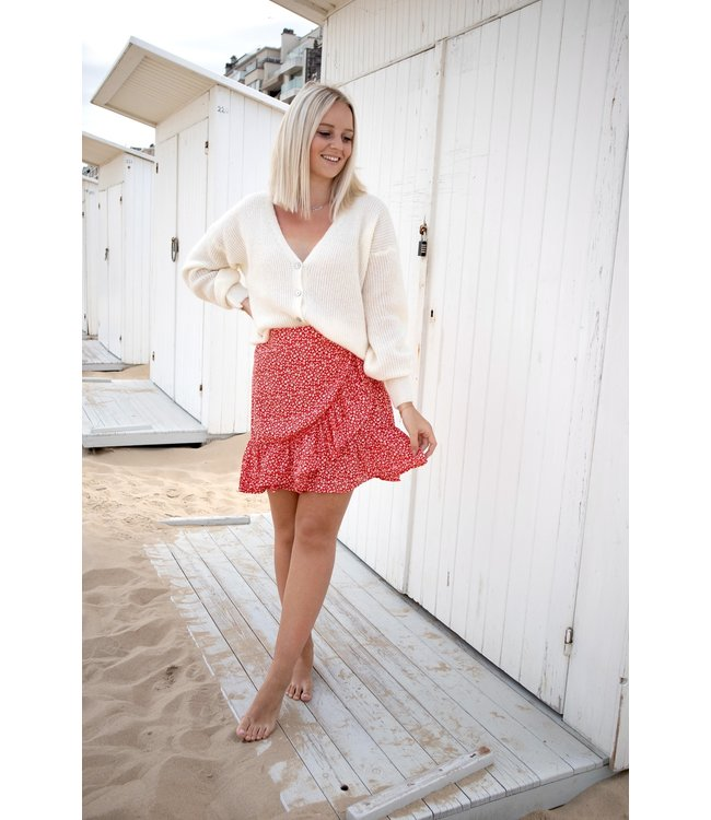 Ella skirt - red