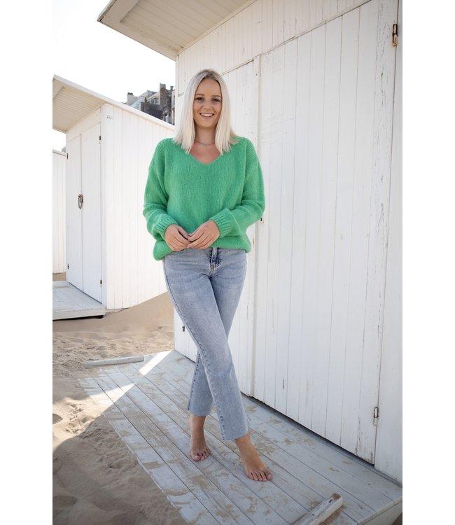 Belle sweater - green