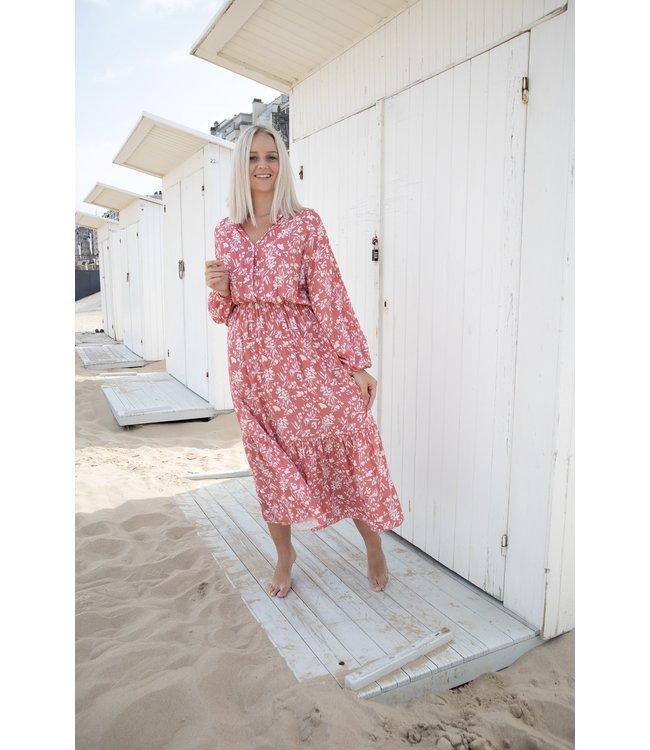 Lorella dress - coral