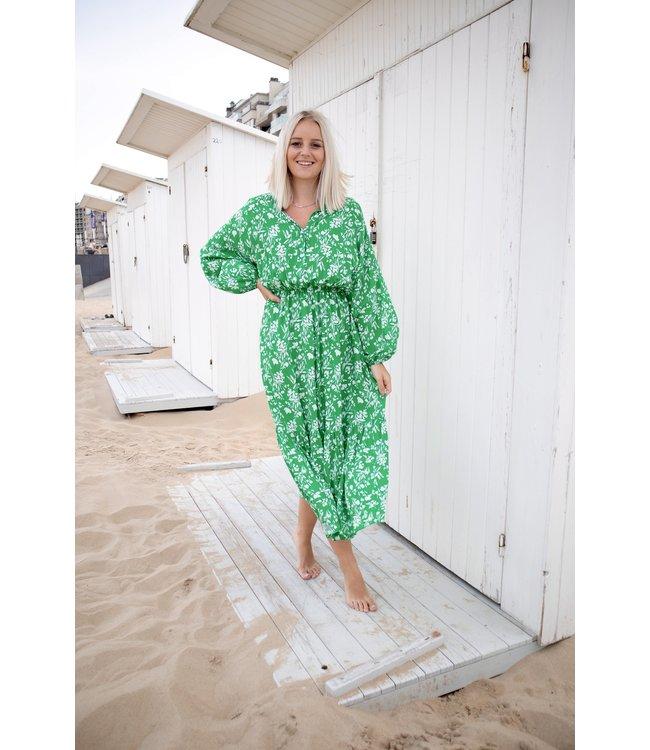 Lorella dress - green