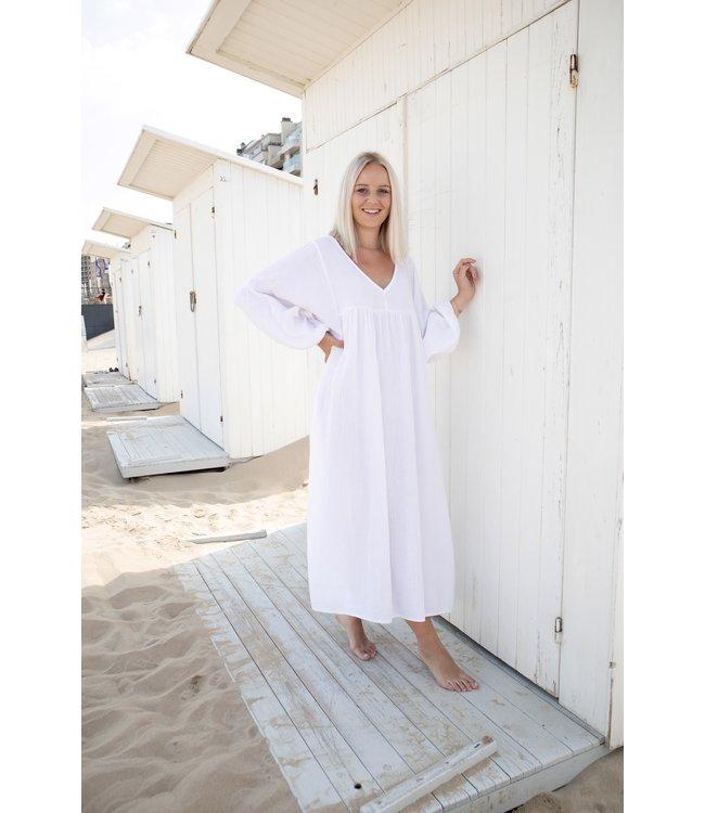 Tetra isa dress - white
