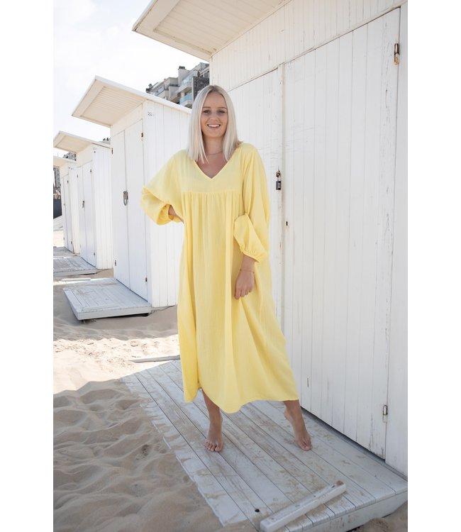 Tetra isa dress - yellow