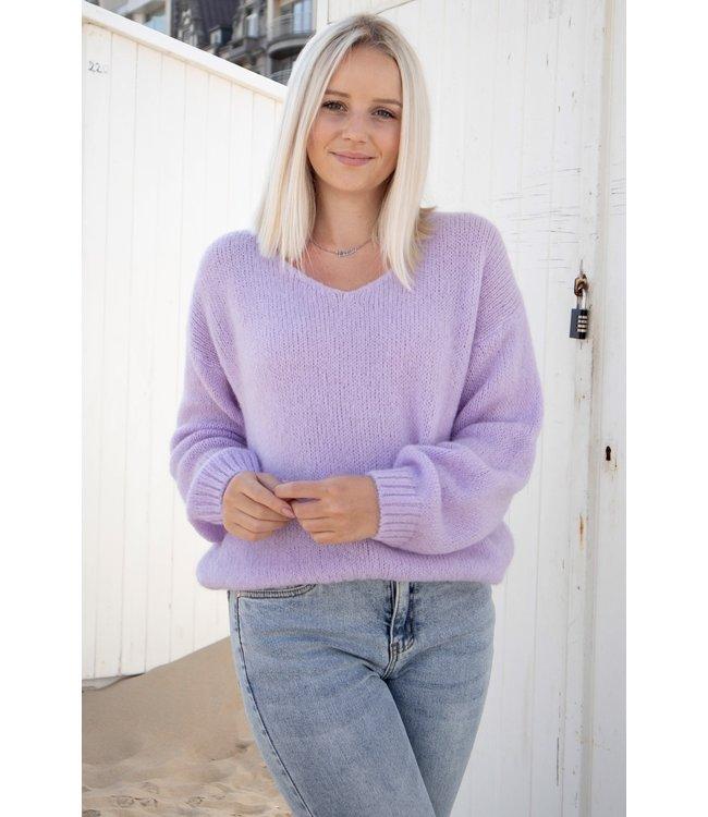 Belle sweater - lila