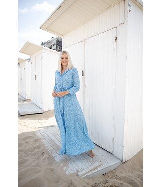 Ina MAXI dress - deep blue
