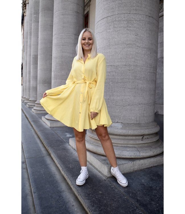 Dreamy tetra dress - yellow