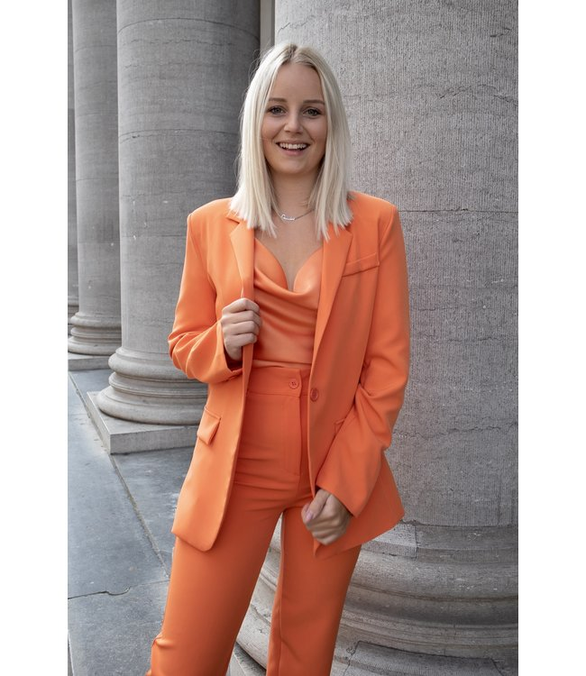 Isa suit blazer - orange