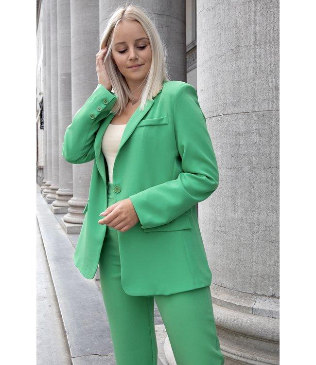 Isa suit blazer - green