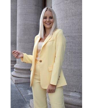 Isa suit blazer - yellow