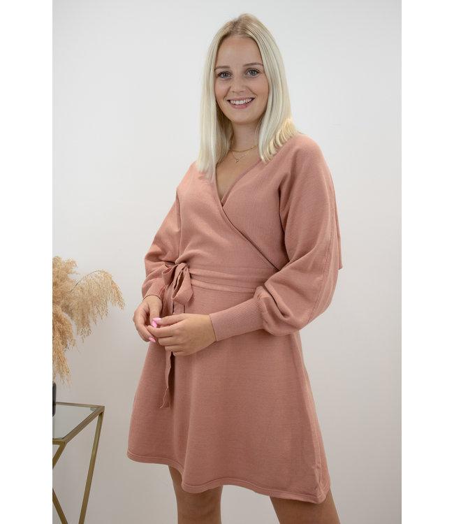 Adorable dress - terracotta