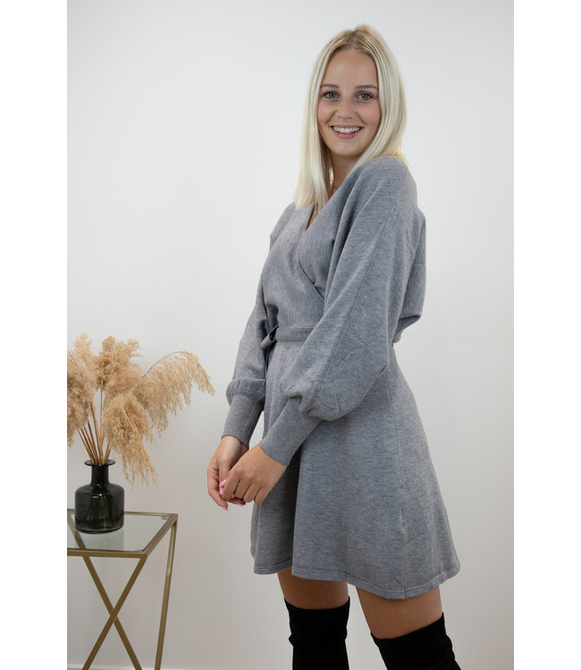 Adorable dress - grey