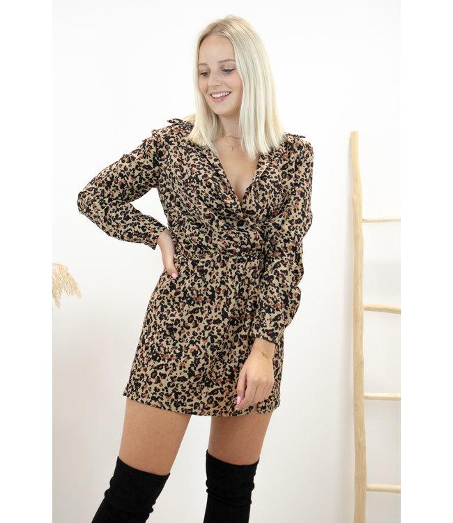 Infinity dress - leopard