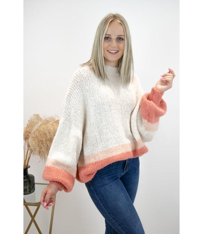 Triple cosy sweater - orange