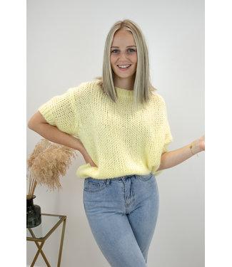 Felicia short sleeve - yellow