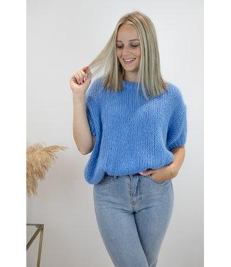 Felicia short sleeve - sky blue