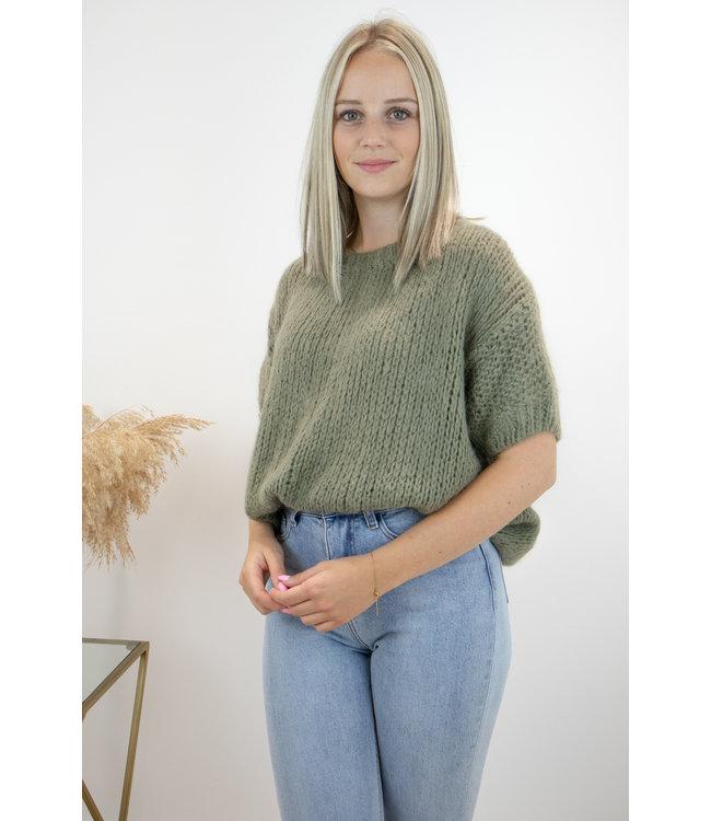 Felicia short sleeve - kaki