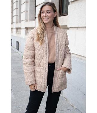 Selecte Femme jacket - beige