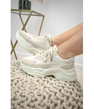 Shade sneakers - nude
