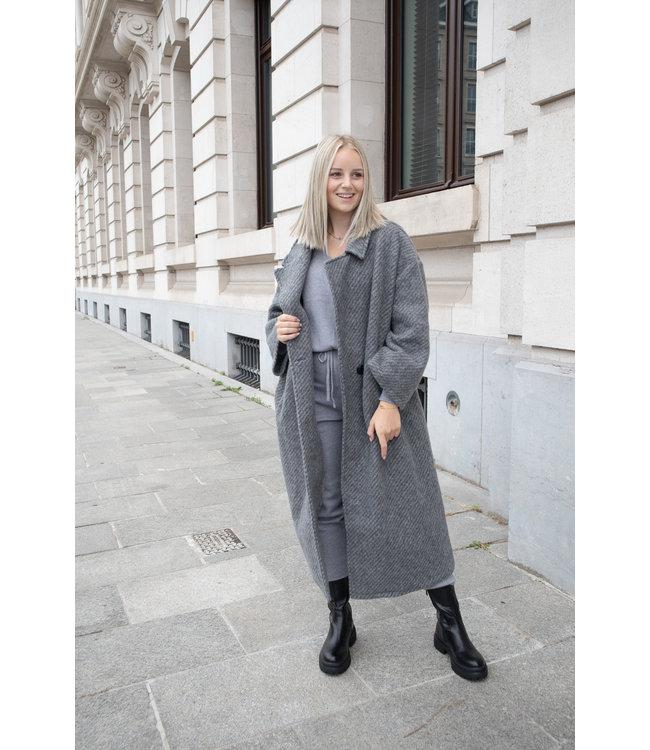 She's Milano x COAT - grey