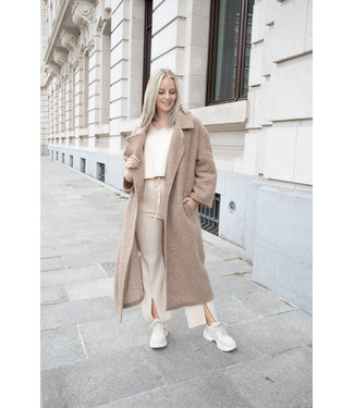 She's Milano x COAT - camel