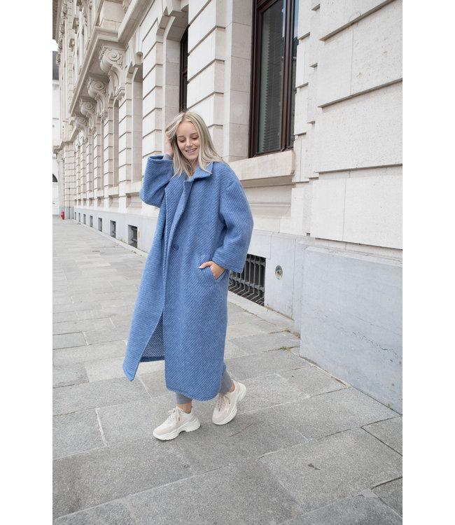 She's Milano x COAT - blue